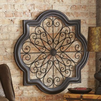 D Orsay Scrolled Metal Wall Art 79 99 At Seventhavenue Com