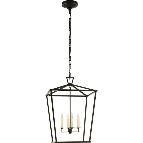 Darlana Lantern Aged Iron Modern Lighting Pinterest