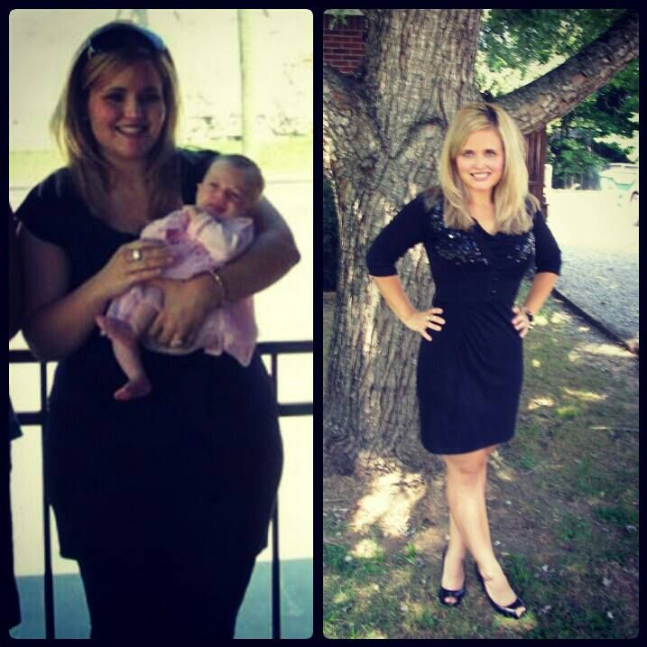 Laura's before and after weight loss success. She is my inspiration! Follow her on Instagram @momthatwraps and on Pinterest @Laura Beasley