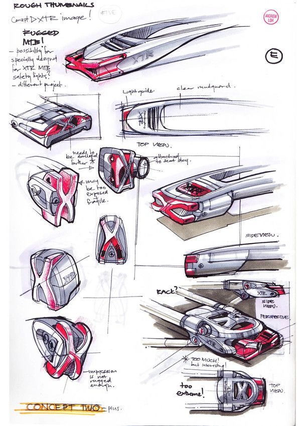 Product Sketch And Idea Generation Platforms By Andrew Loh, Via Behance