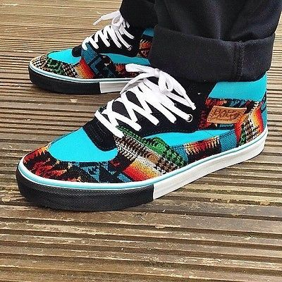vans off the wall shoes limited rare Vans pendleton Half Cabs ...