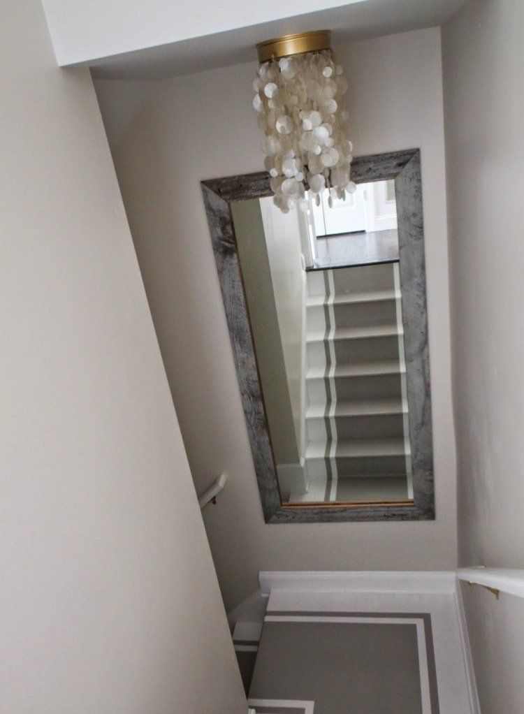 R novation escalier et id es de d coration 78 photos for Idee deco miroir