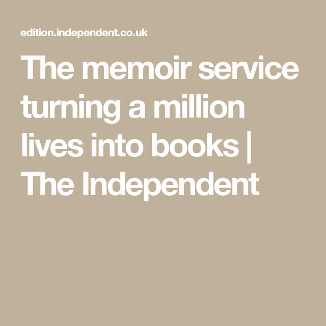 Memoir writing services uk