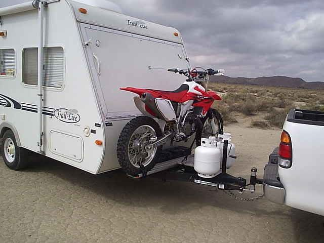 Our 5x8 Cargo Conversion Expedition Portal Motorcycle Camping