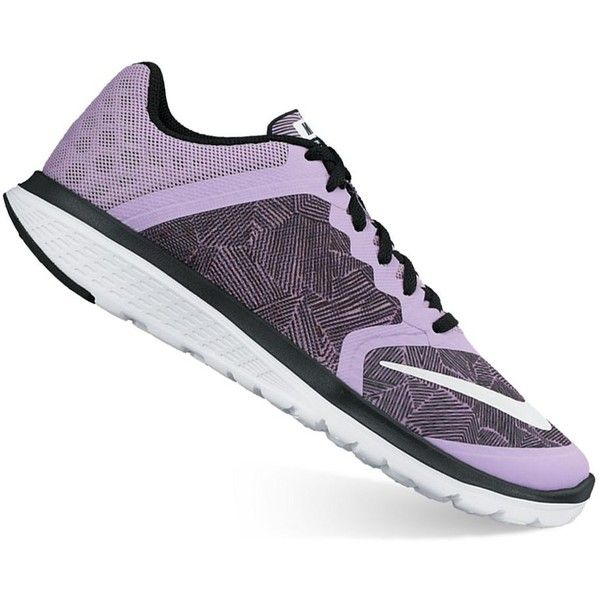 save off af67f afff0 Nike FS Lite Run 3 Women s Running Shoes (280 SAR) ❤ liked on Polyvore  featuring shoes, athletic shoes, drk purple, mesh shoes, lightweight  running shoes, ...