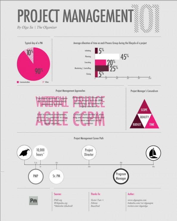 Project Management Infographic  Project Management