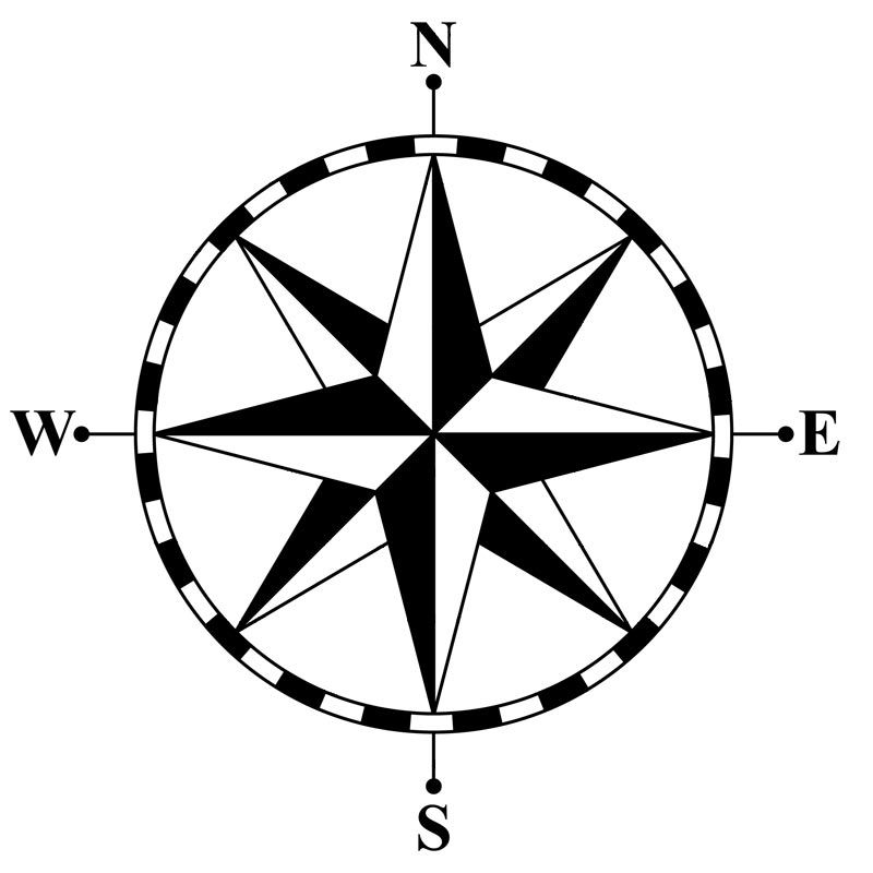 This is best Compass Clip Art #9162 Clipart Compass Rose