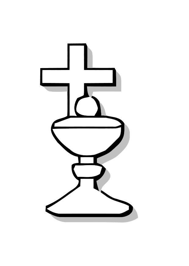 Dibujos Para Colorear De Nino De Comunion Imagui Coloring Pages Communion Communion Cross