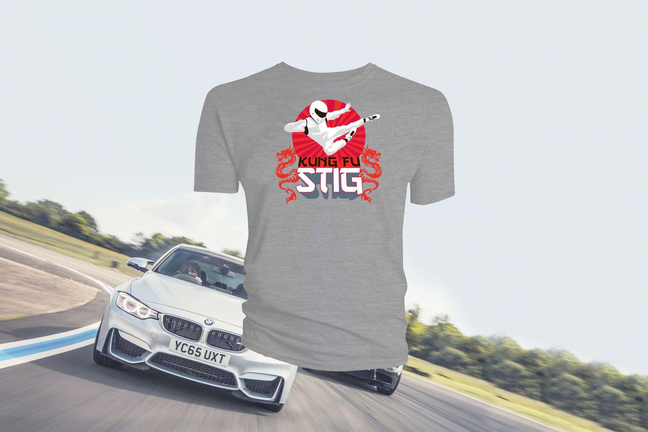TopGear-abonnement met gratis Stig Kung-Fu-shirt - https://www.topgear.nl/autonieuws/gratis-stig-kung-fu-shirt/
