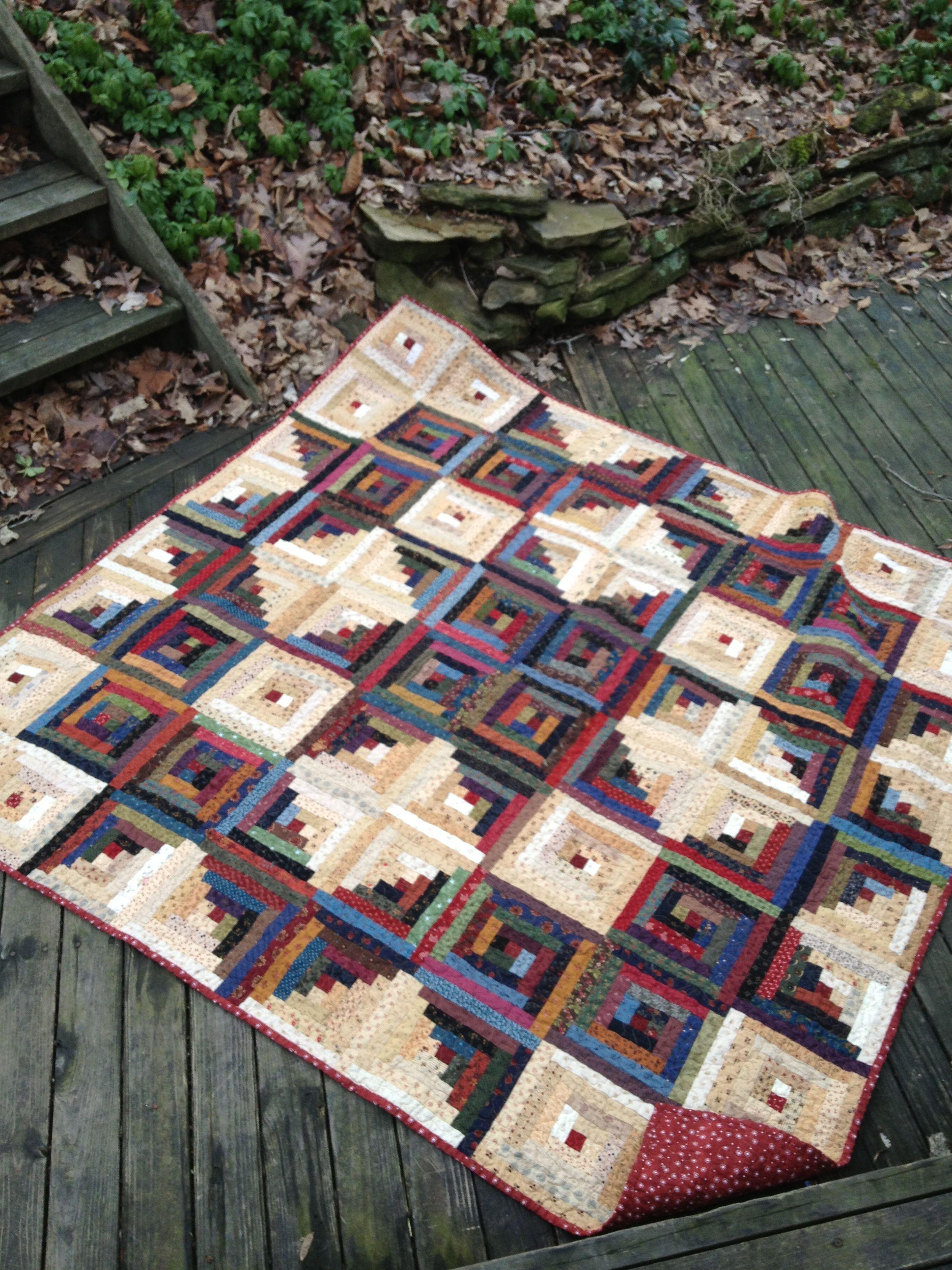 Broken Star Log Cabin Edyta Sitar Pattern My Quilts Pinterest