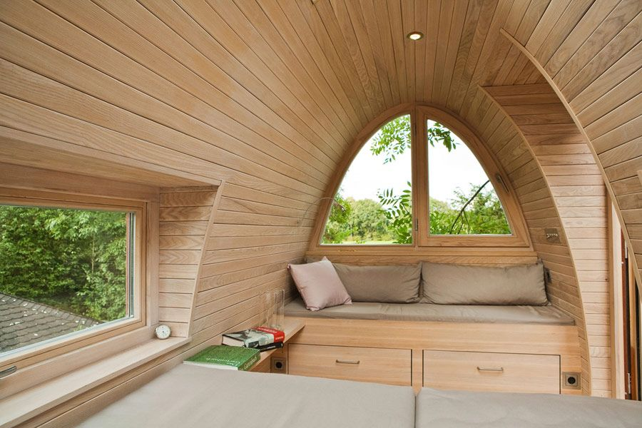 A 92 Square Feet Treehouse Perched In Münster Germany