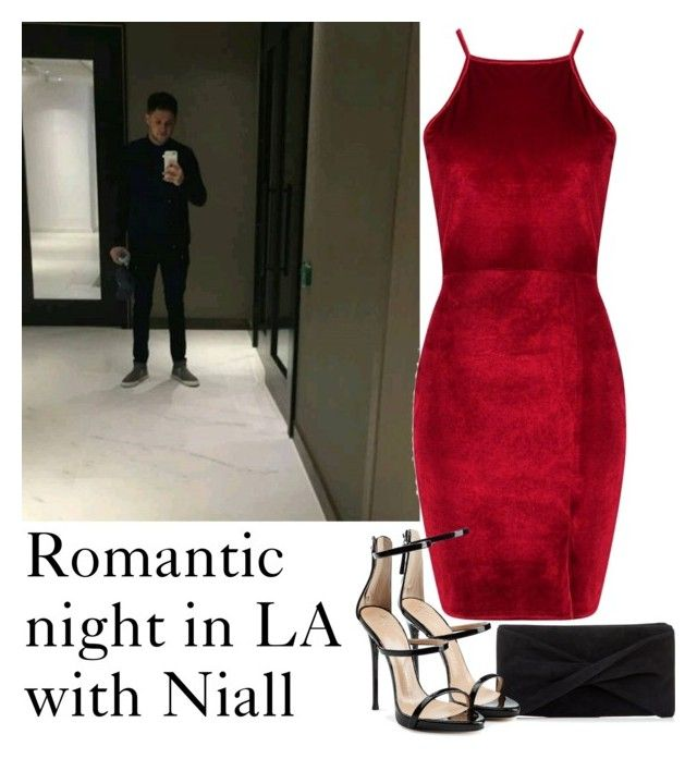 """""""Romantic night in LA with Niall"""" by michii8 ❤ liked on Polyvore featuring Reiss, Boohoo and Giuseppe Zanotti"""
