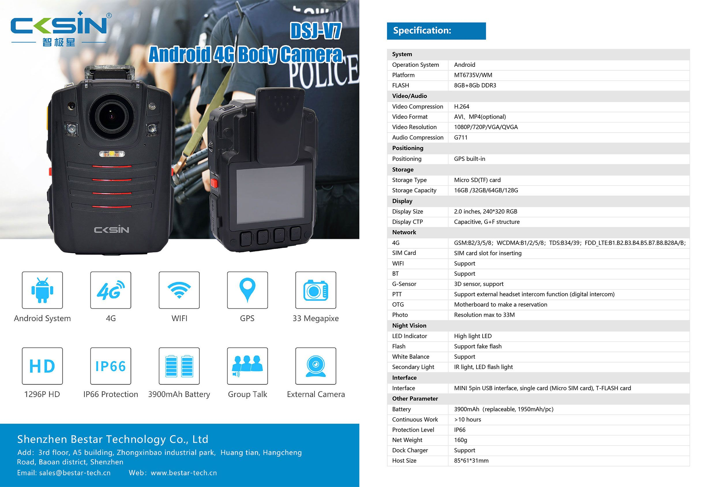 Product Features 1 Android Operation System 2 140 Wide Range