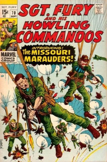 Sgt Fury and his Howling Commandos #70 (Sep 1969)