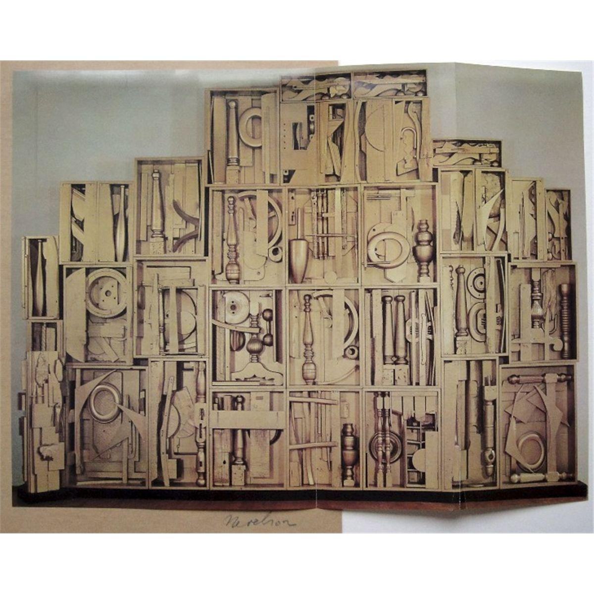 Louise Nevelson Artwork