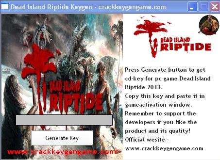 dead island riptide download crack
