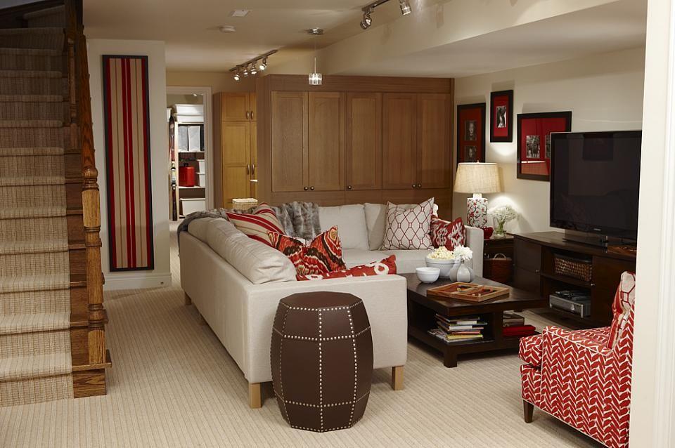 Clutter Free Basement Sarah Richardson Design Sarah Richardson