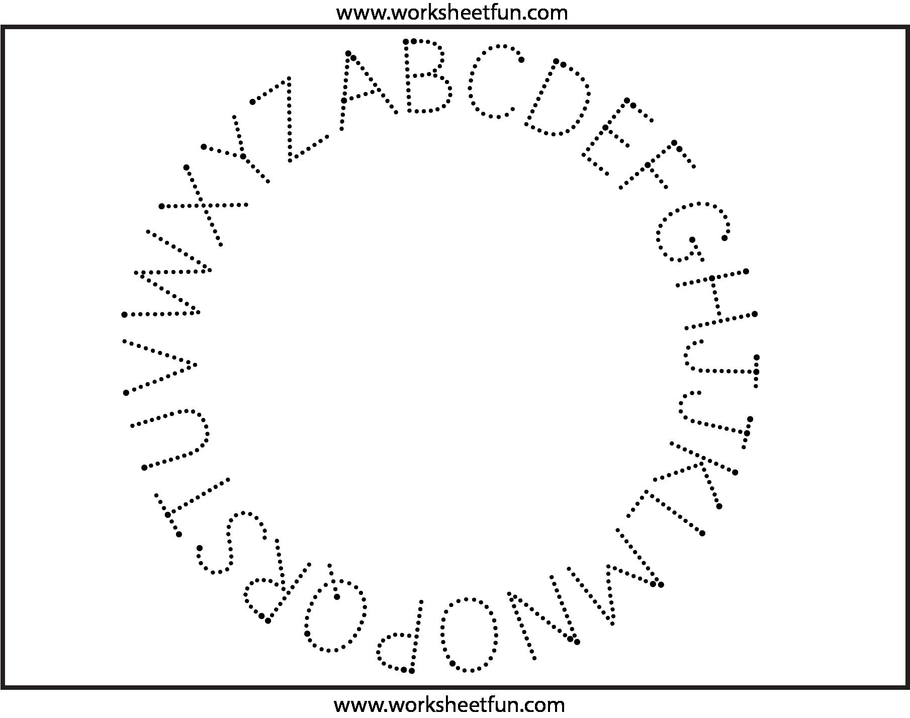 Fun Letter Tracing