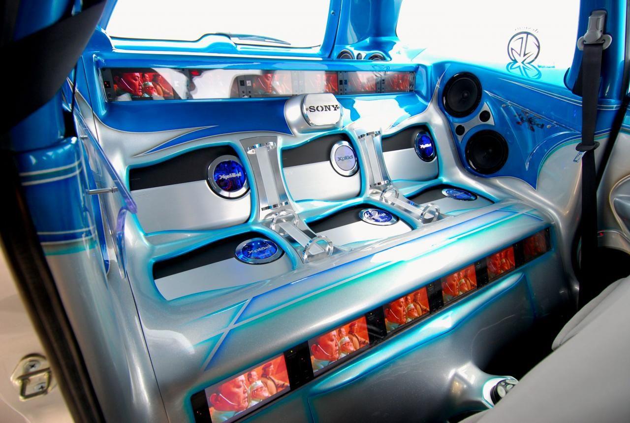 Car Audio Modification Aluminum And Acrylic To House Six Amplifiers Car Audio Installation Car Audio Systems Car Audio