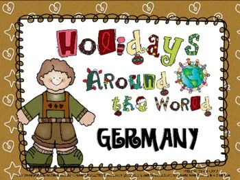 holidays around the world germany christmas language arts ideas holidays around the world. Black Bedroom Furniture Sets. Home Design Ideas