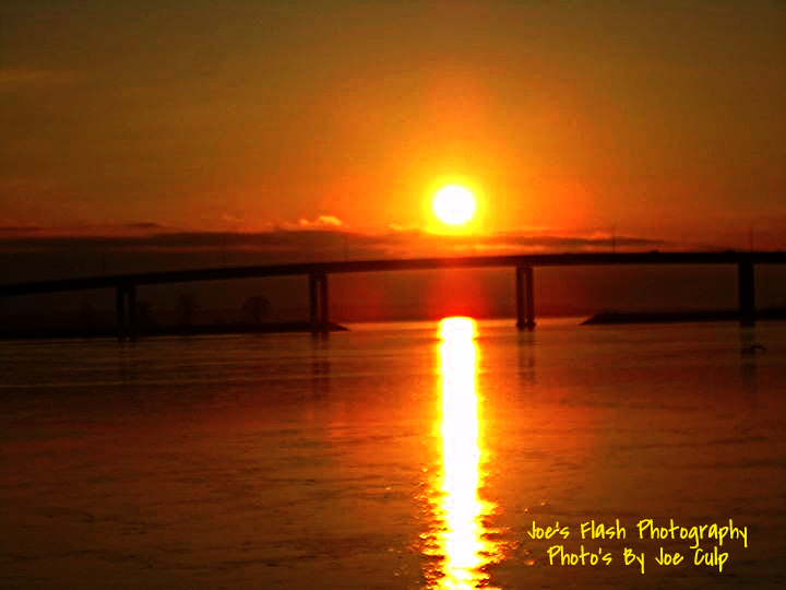 Sunset over the Bay of Quinte Belleville Ontario