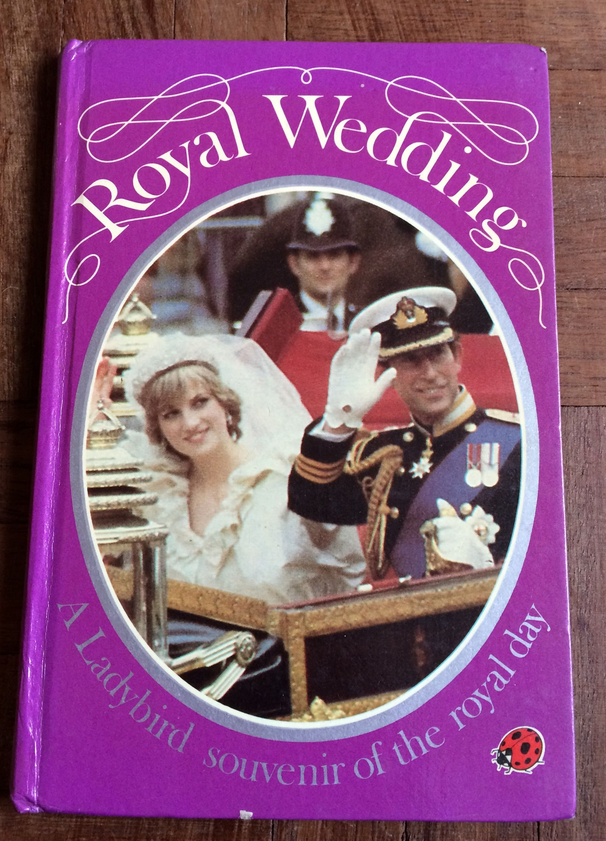 Vintage Ladybird Book Royal Wedding Prince Charles And Lady Diana Souvenir First Edition 1981 Memorabilia By Vintagepurplebooks On Etsy