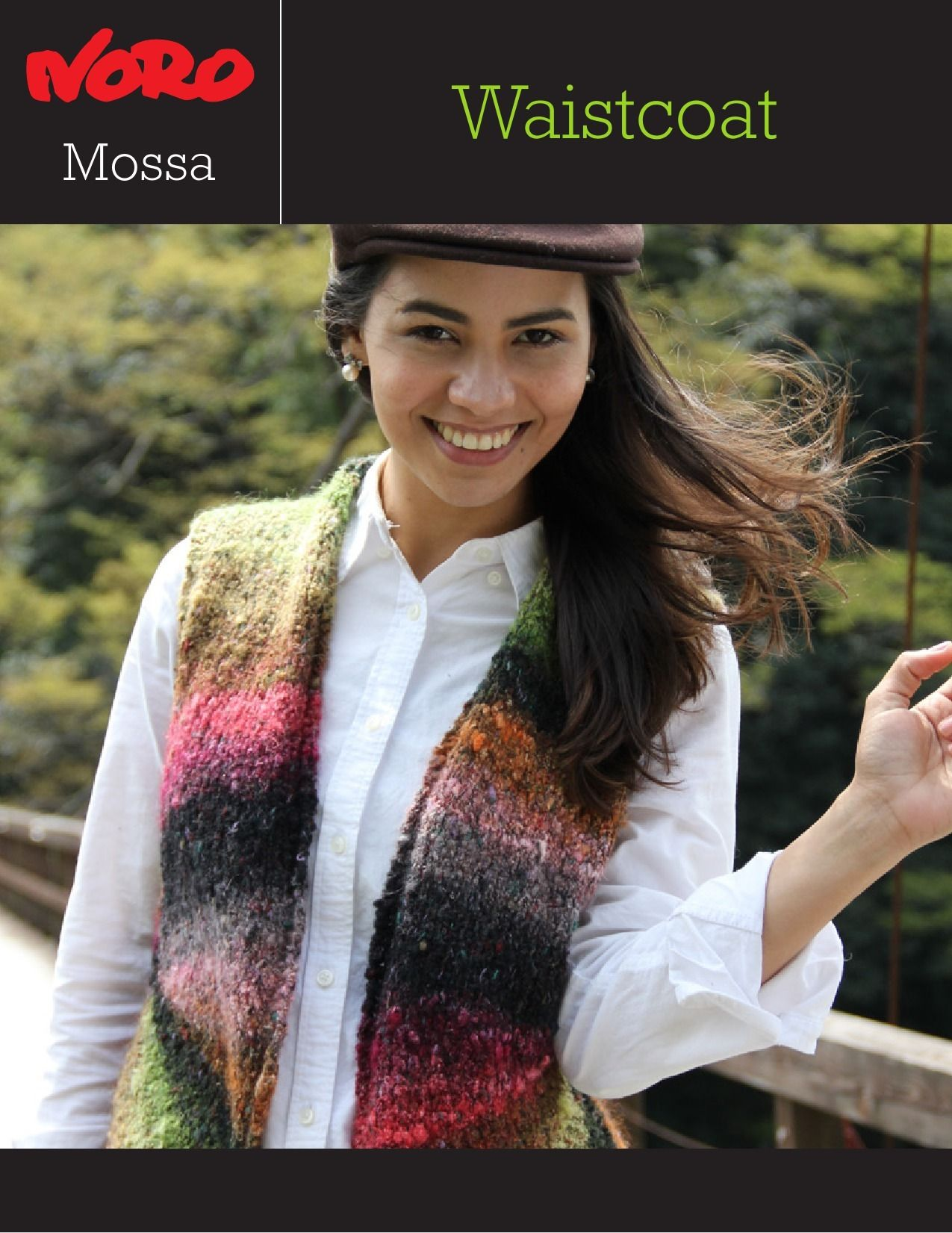 9024598ad Waistcoat in Noro Mossa. Discover more Patterns by Noro at LoveKnitting. We  stock patterns