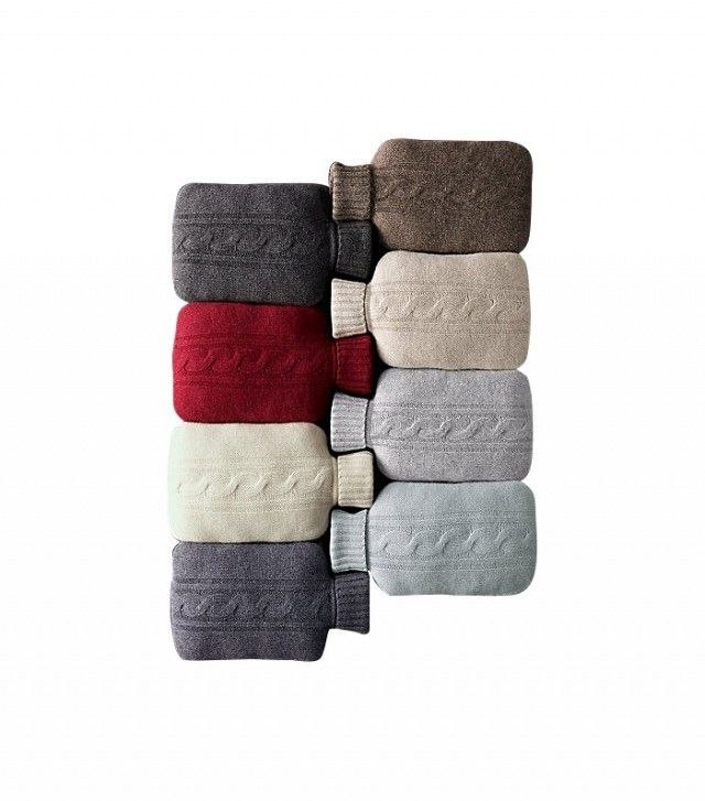 Restoration Hardware Cashmere Hot Water Bottle