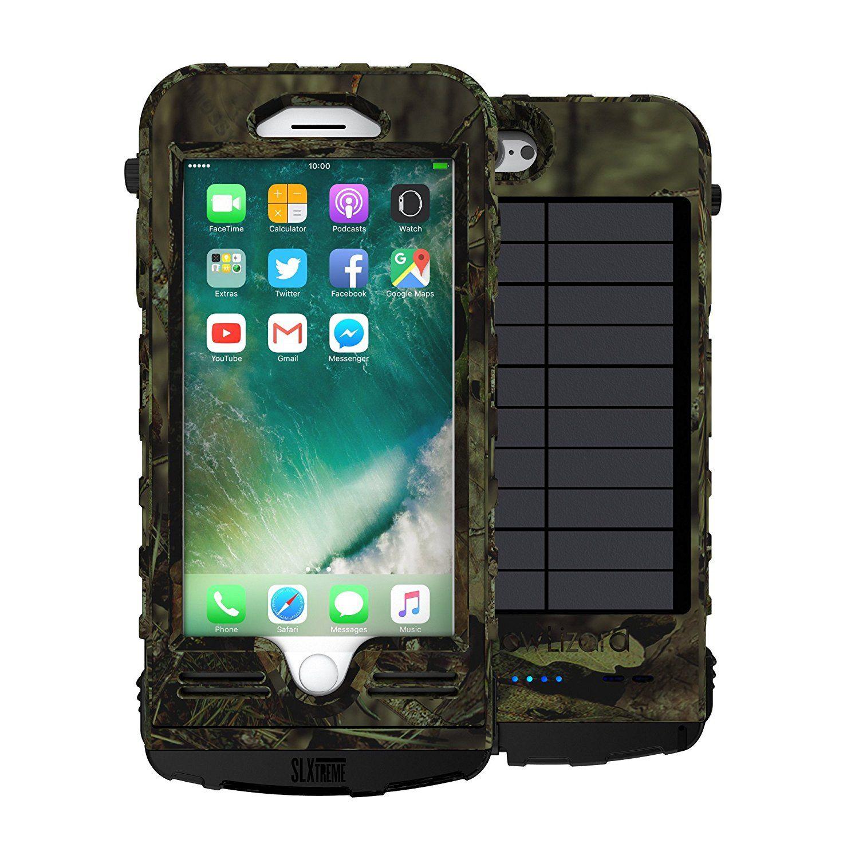 Snowlizard slxtreme iphone 8 plus case solar powered