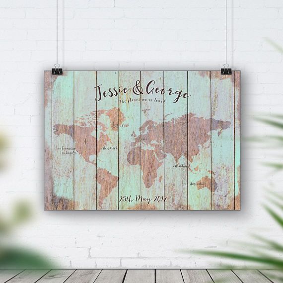 Reclaimed wood map rustic wood art vintage wood signs distressed reclaimed wood map rustic wood art vintage wood signs distressed wall art upcycled world map shabby beach timber map country print gumiabroncs Choice Image