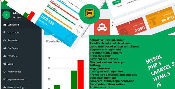 ITaxi- Taxi Booking Web Admin Template - https://www.laravel-vuej ...
