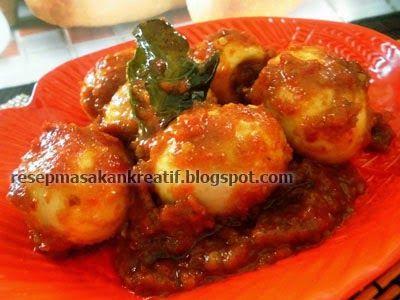 Resep Telur Bumbu Rujak Resep Masakan Indonesia Resep Masakan Malaysia Resep