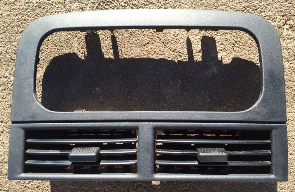 1999 2004 Jeep Grand Cherokee Radio A C Heater Trim Bezel Vent Dash Black Oem Jeep Grand Cherokee Jeep Grand Jeep