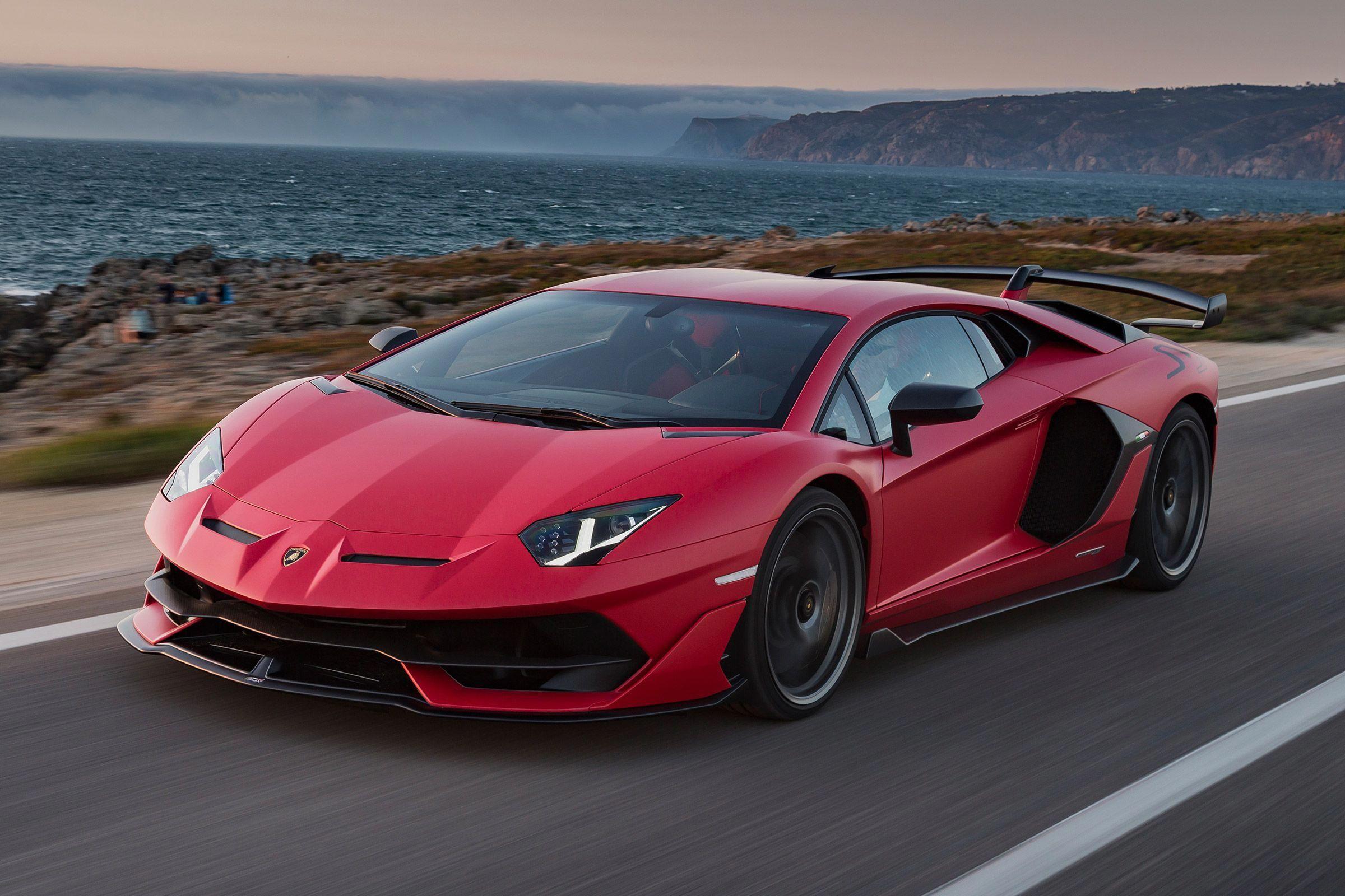 Lamborghini Aventador Svj A True Track Weapon With A Screaming