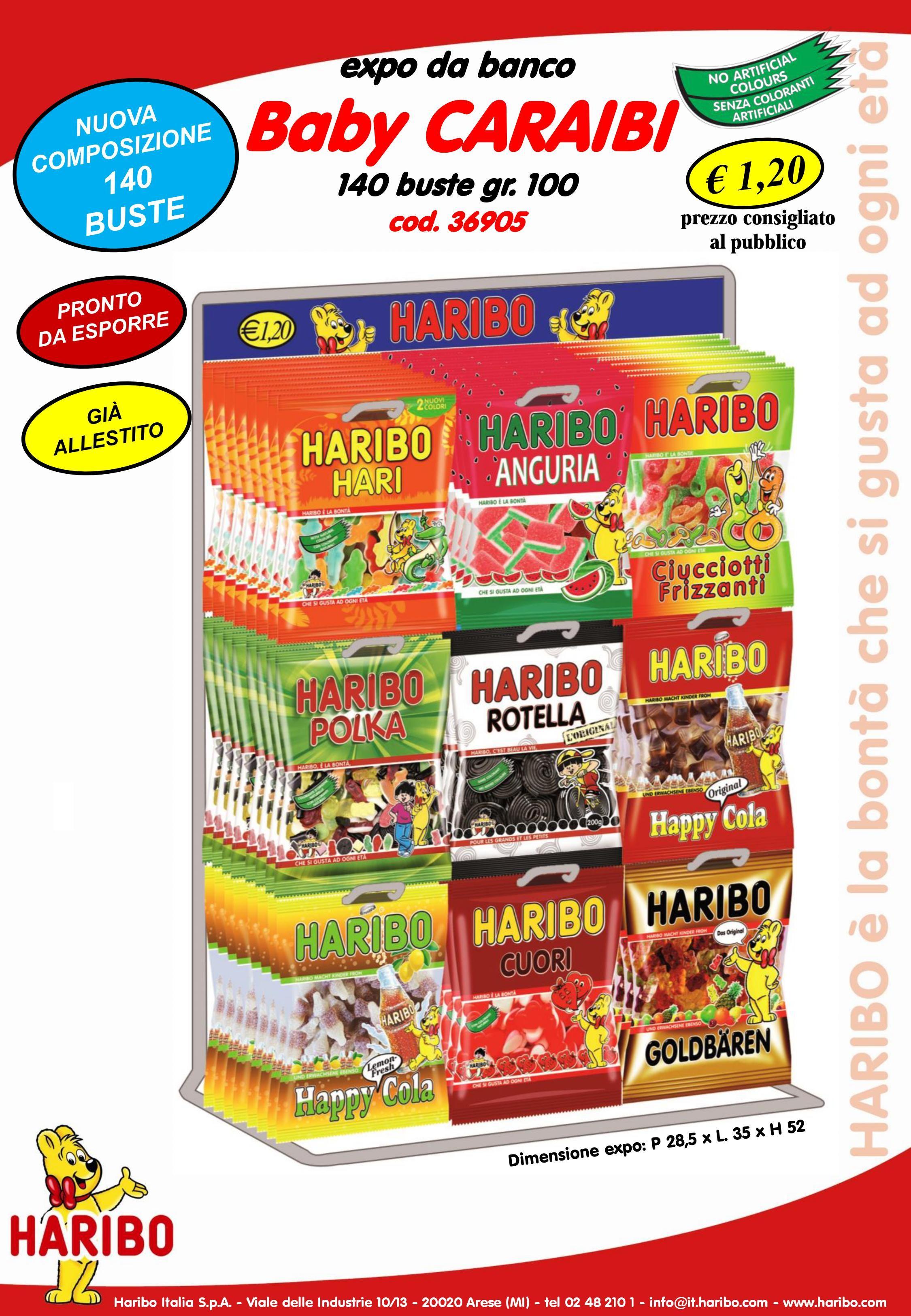 ESPOSITORE HARIBO