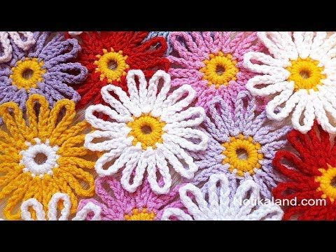 Lovely Crochet Flower Pattern You Need To Learn | CrochetBeja #crochetflowers