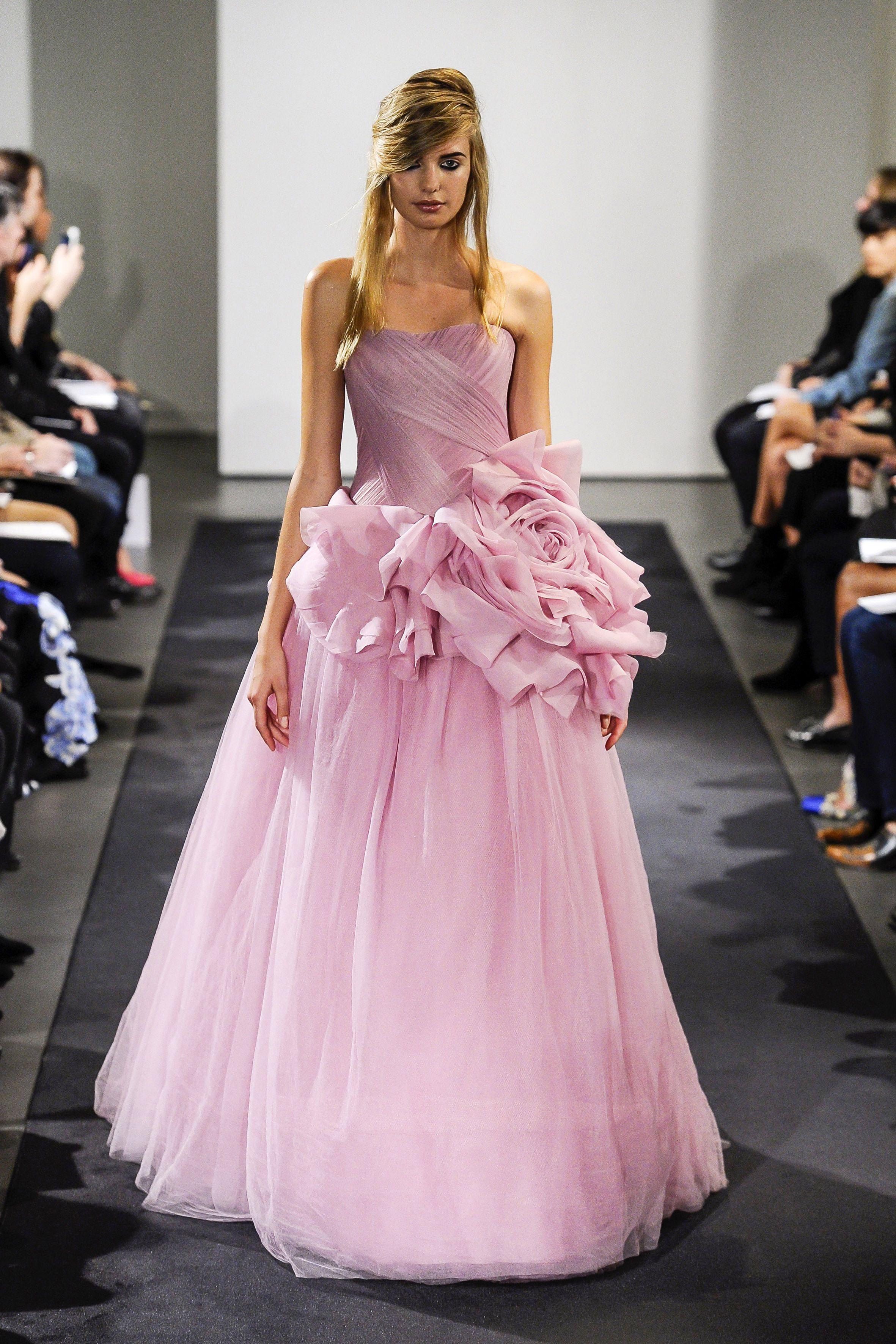 Vera Wang vestido de novia colección Otoño - Invierno 2014/15 ...