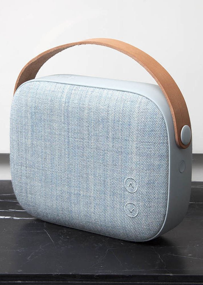 VIFA | HELSINKI WIRELESS BLUETOOTH SPEAKER. Portable bluetooth speaker in Misty Blue