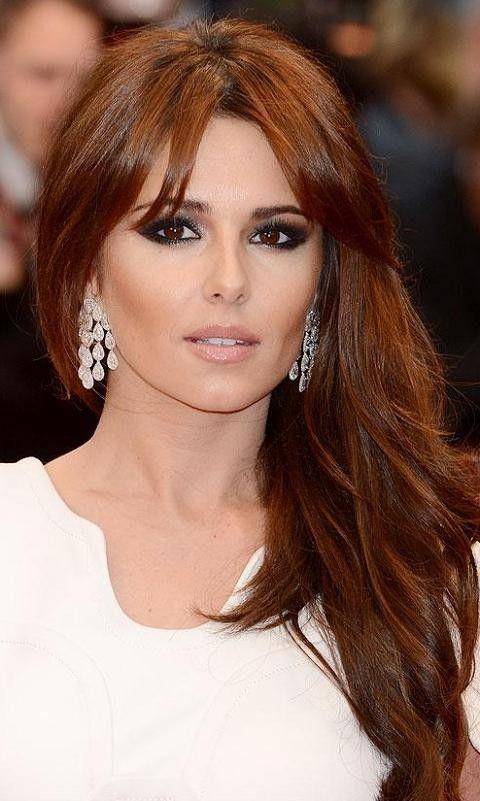 Loving Cheryl Coles Copper Brown Celeblife Hair Styles