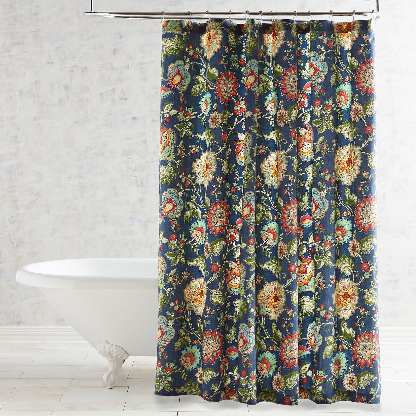 Avery Floral Shower Curtain Pier 1 Imports Floral Shower