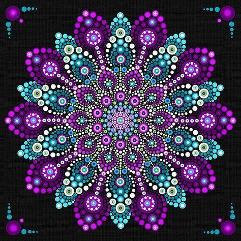 Mandala Stones Pattern Easy