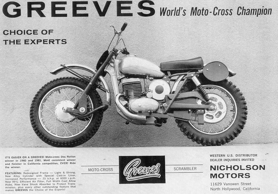 Pin By Kenneth Young On Greeves Bike Magazine Vintage Motocross
