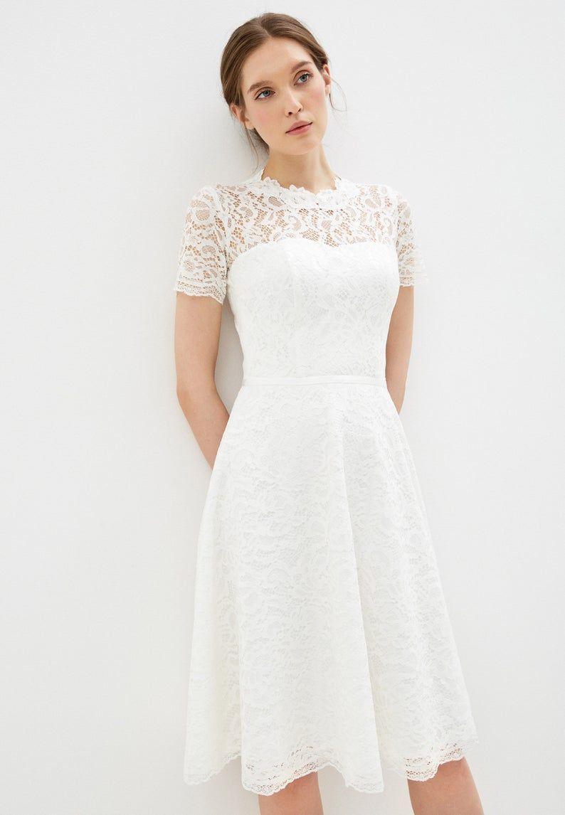 Short Wedding Dress Knee Length Gown Boho Wedding Dress Simple Wedding Gown Bridal Dresses Lace Bridal Dress Off White Dress Corset Gown Short Wedding Dress Knee Length Wedding Dress Wedding Dress For Short Women [ 1146 x 794 Pixel ]
