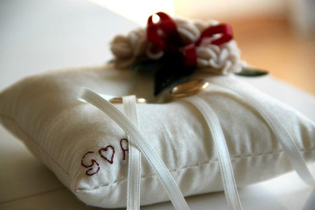 Ring bearer pillow DIY