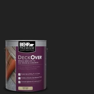 Behr Premium Deckover 1 Gal Sc 102 Slate Solid Color Exterior