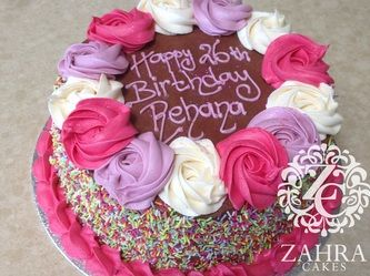 Birthday Cakes by Zahra Cakes ZAHRA CAKES Based in Altrincham