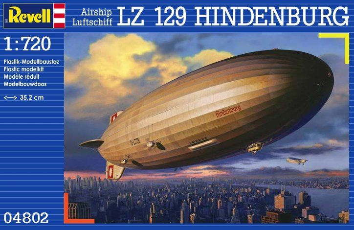 Hindenburg Model Kit By Revell Airship Zeppelin