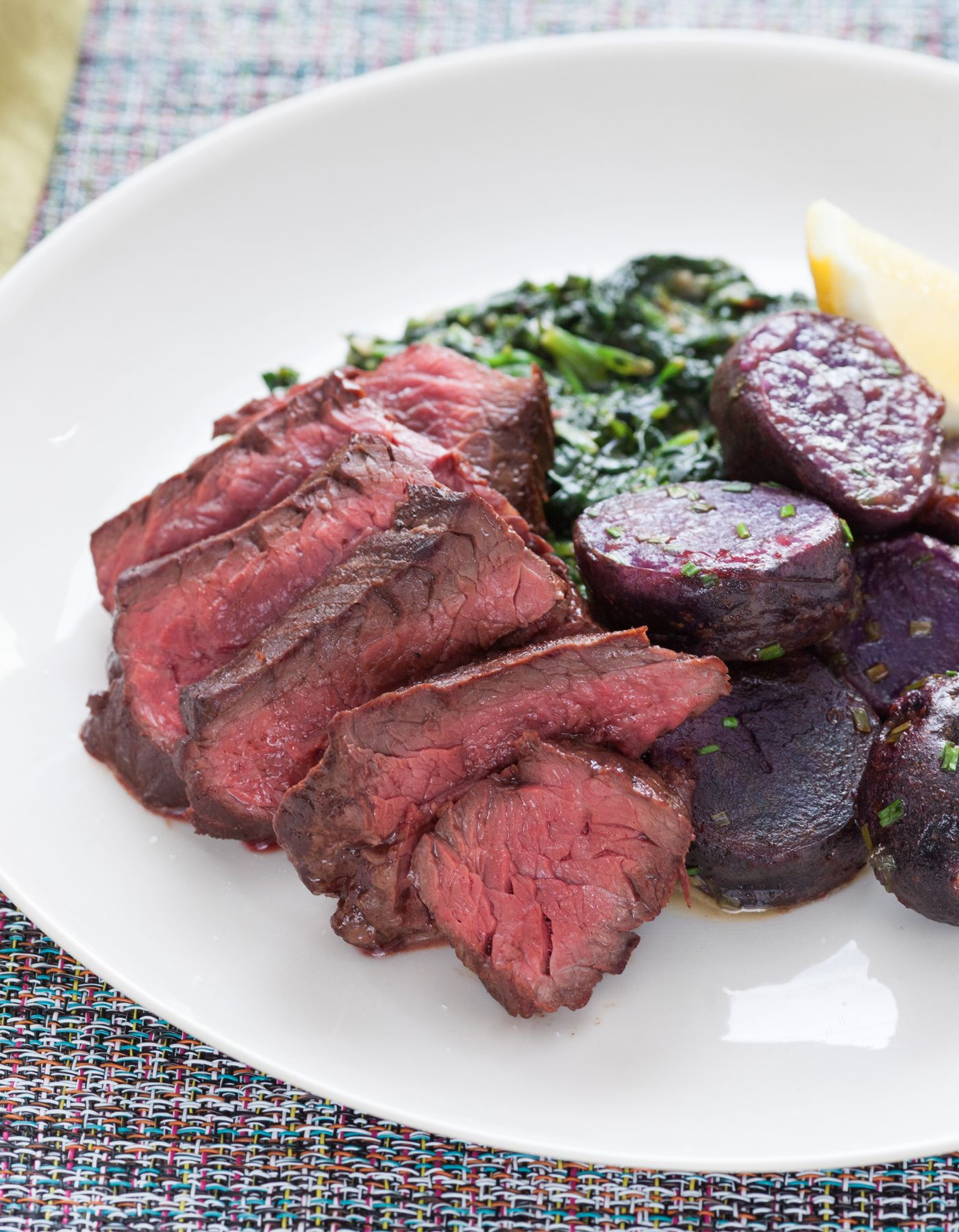 Pan-Seared Steaks with
