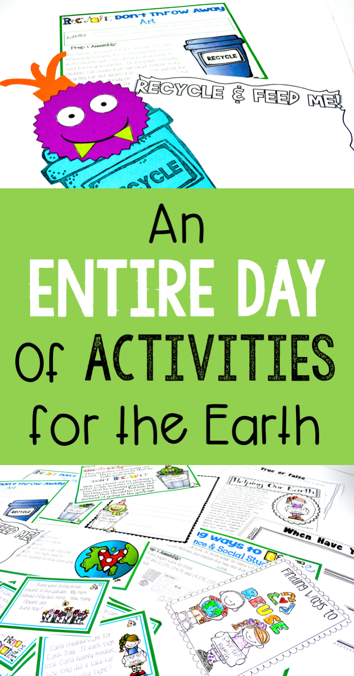 Earth Day Activities- A Day of Activities For the Earth | Kid ...