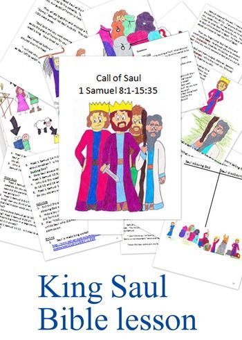 King Saul Bible lesson | Myriad | Pinterest | Bible, Pdf and Sunday ...